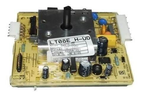 Placa De Potência Com Jumper Para Lavadora Lte08 Electrolux - A99587001