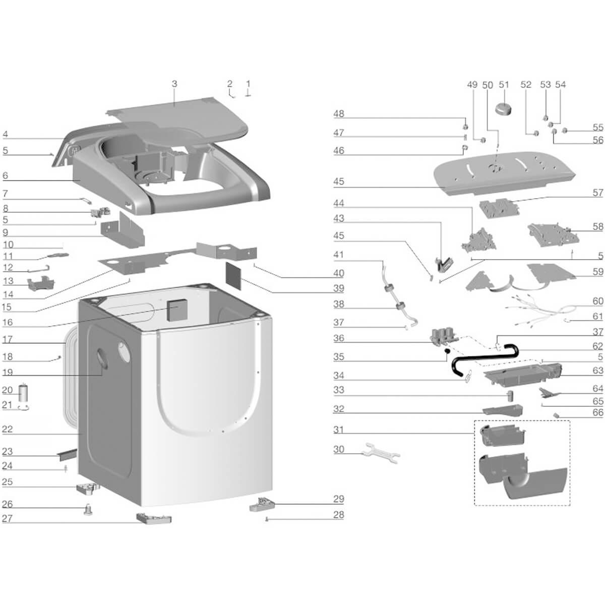 Placa De Potência Para Lavadora De Roupas Electrolux LTP15 - 70201778