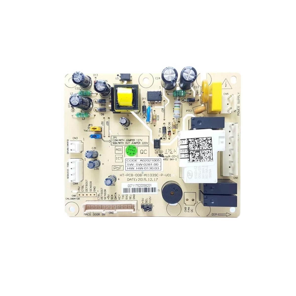 Placa De Potencia Para Refrigerador Df80x Df80 Df82 Electrolux - A02021001