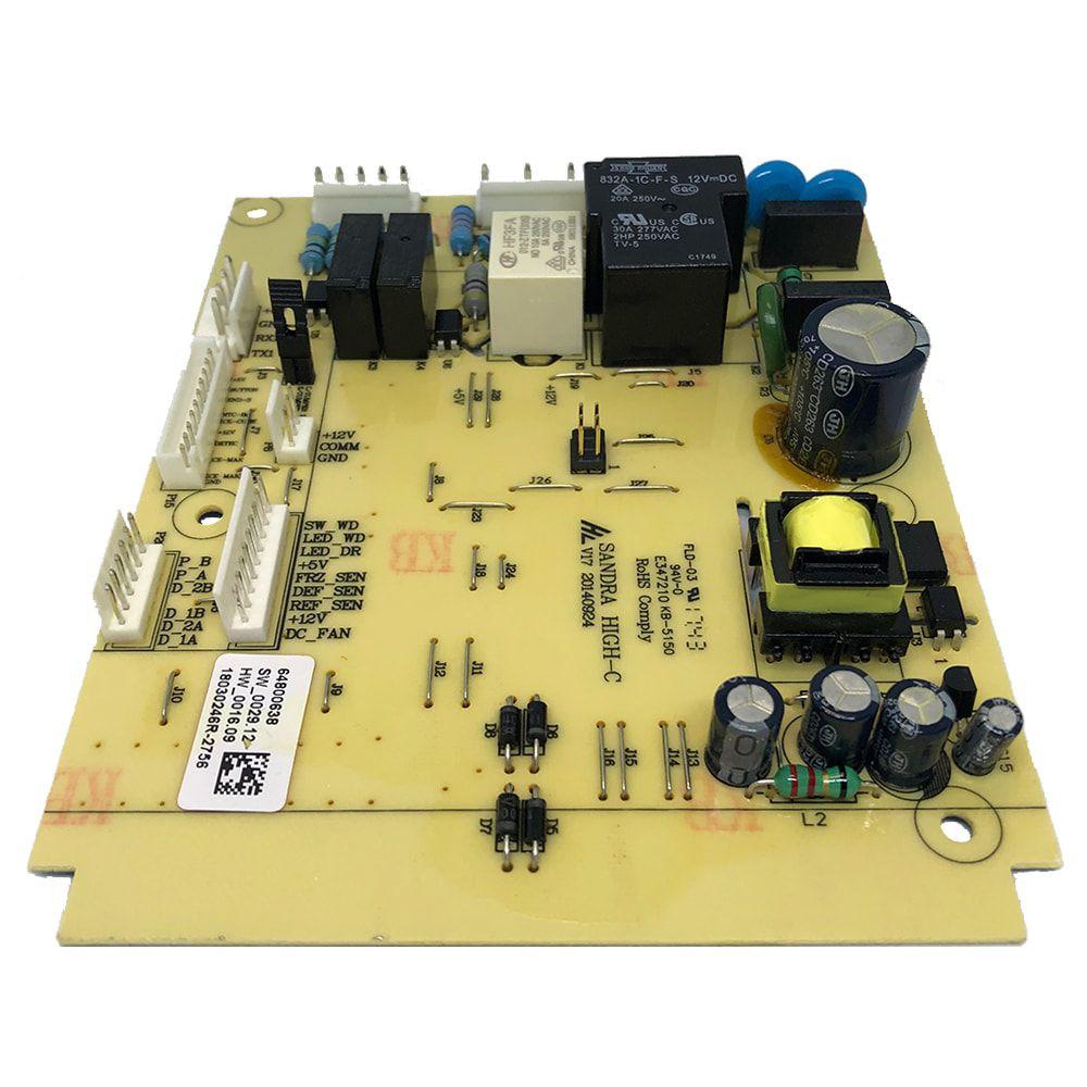 Placa De Potência Para Refrigerador Frost Free Electrolux Bivolt DFI80 DI80X DT80X - 64800638