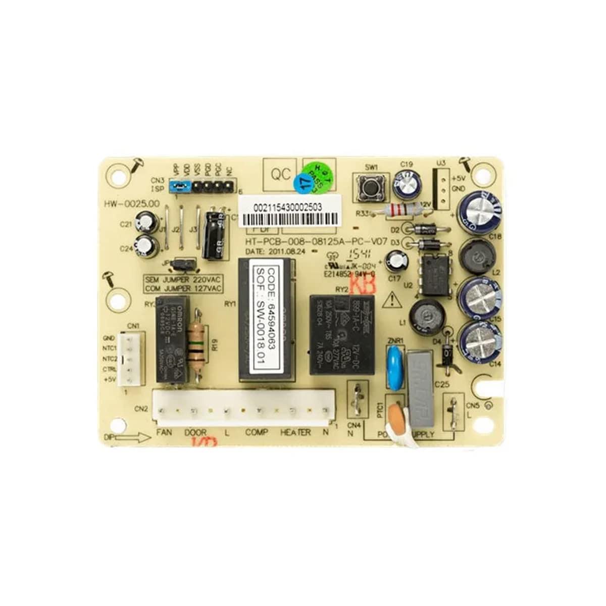 Placa Eletronica Refrigerador Electrolux - 64594063
