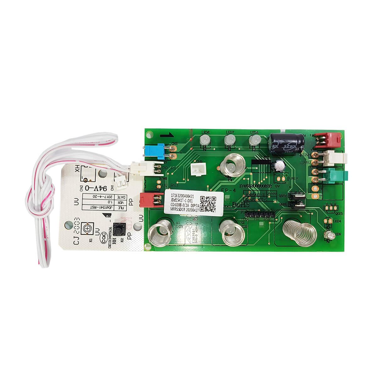 Placa Interface Com Reset Para Purificador De Água Pa26g Pa21g Electrolux - A13034701