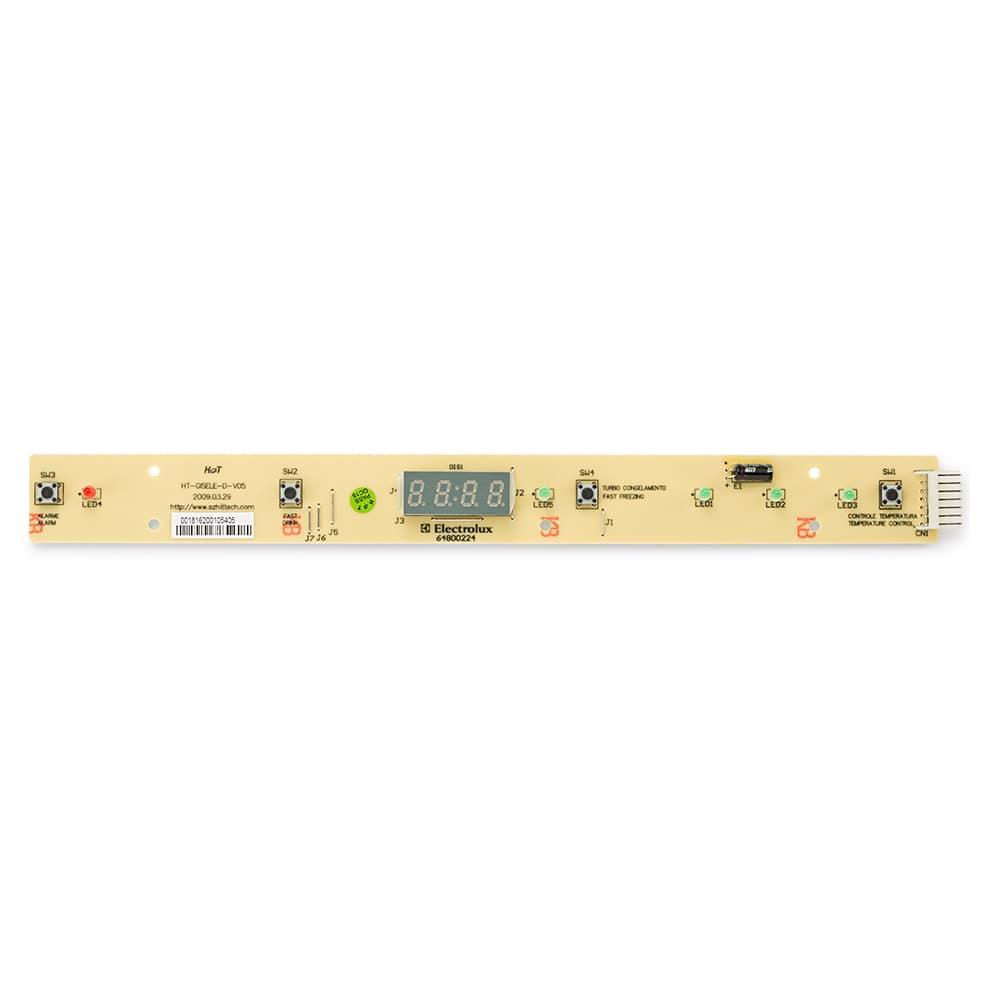 Placa Interface Eletrônica Para Geladeira Electrolux DF43 DF46 DF49 DW48X DF48 DF48X DFW48 DFW49 DCW49 DFW50 - 64800224