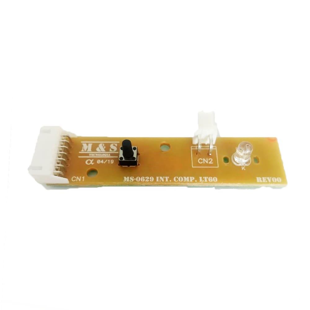 Placa Interface Lavadora De Roupas Electrolux LT60 Led Verde M&S - 64800629