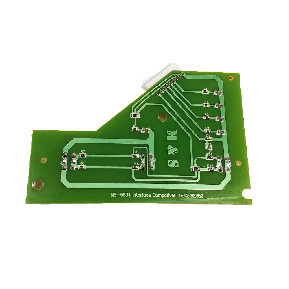 Placa Interface Lavadora De Roupas Electrolux Lte12 V1 Led Verde M&S - 64500634