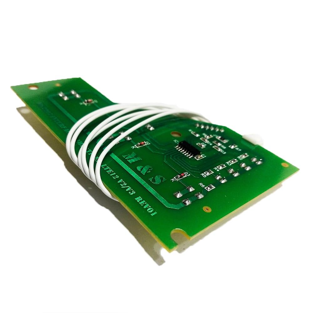 Placa Interface Lavadora de Roupas Electrolux LTE12 V2 Led Verde M&S - 64502207