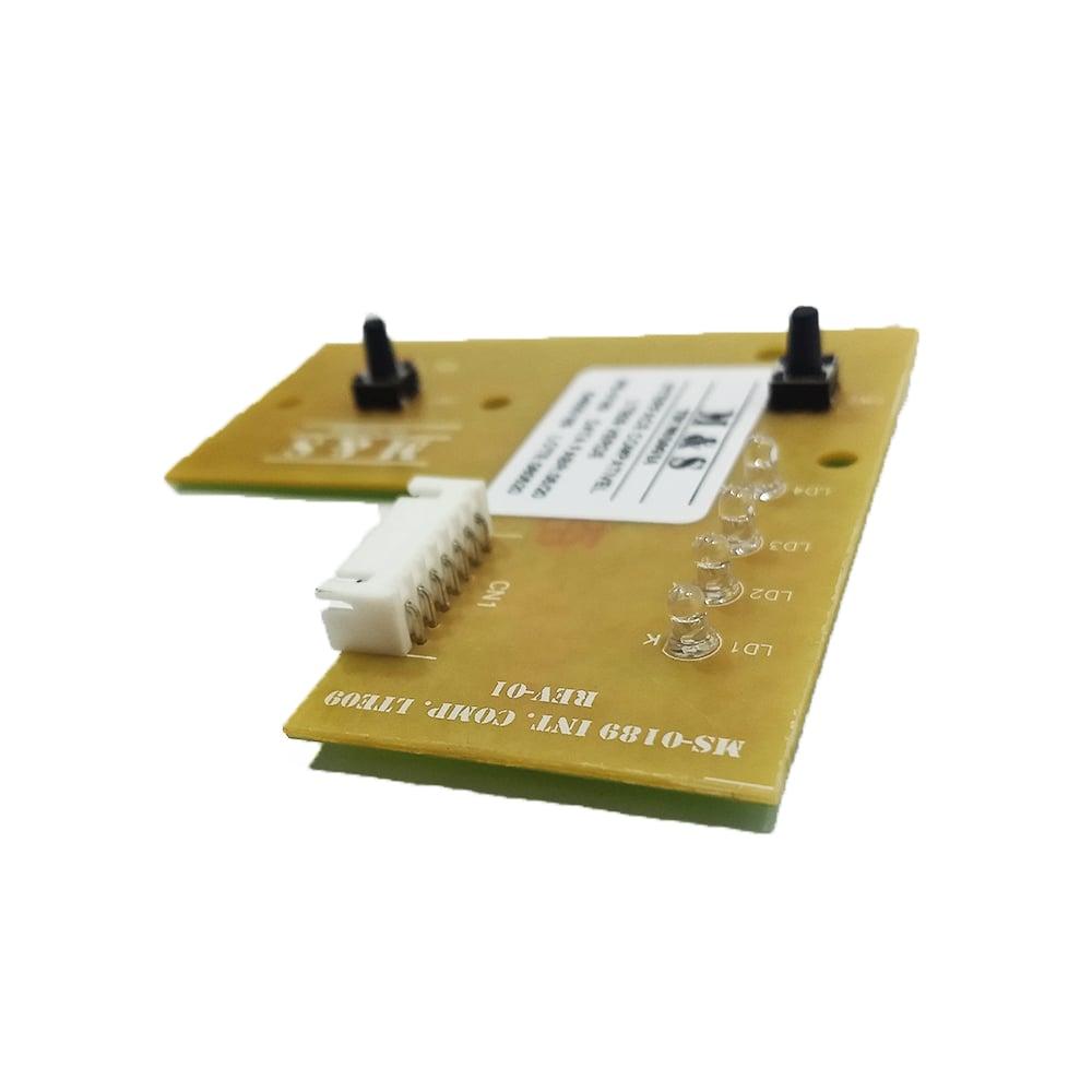 Placa Interface Lavadora De Roupas Lte09 Led Verde M&S - 64500189
