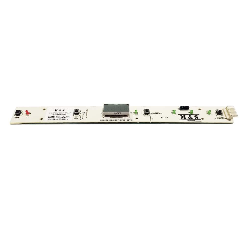 Placa Interface Para Geladeira Electrolux DF43 DF46 DF49 DW48X DF48 DFW48 DFW49 DCW49 DFW50 M&S - 64800224
