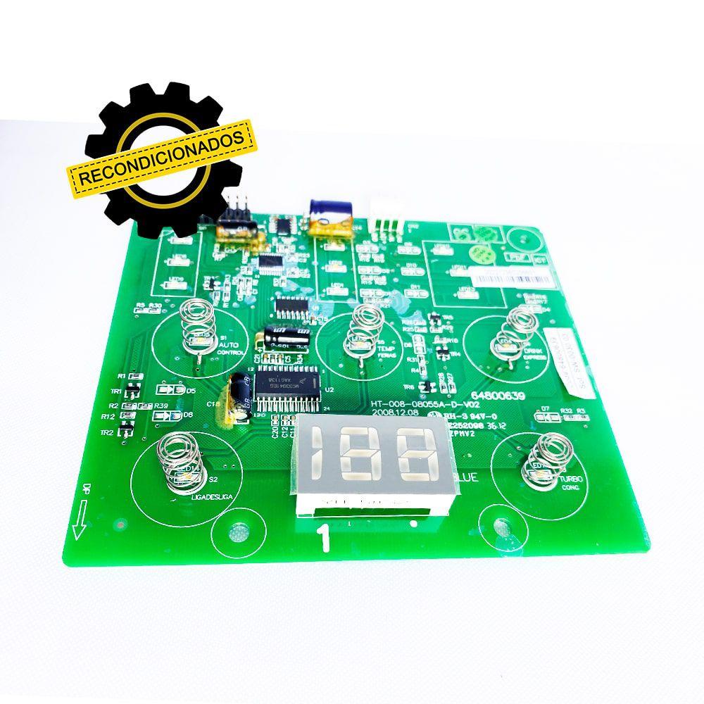 Placa Interface Refrigerador Electrolux DF80 DF80X DFW51 DW51X DWX51 DWN51- 64800639 Recondicionado