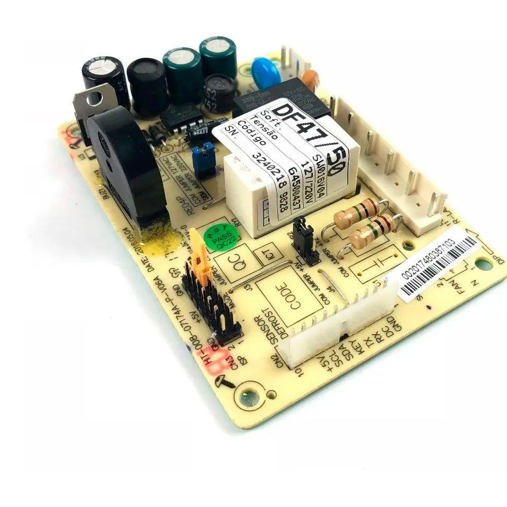 Placa Módulo de Potência Refrigerador Electrolux DF49A DF49X DFN49 DFX49 DFX50 DWX50 DFN50 DF50X DW50X DF47 DF50 DFW50 - 64500437