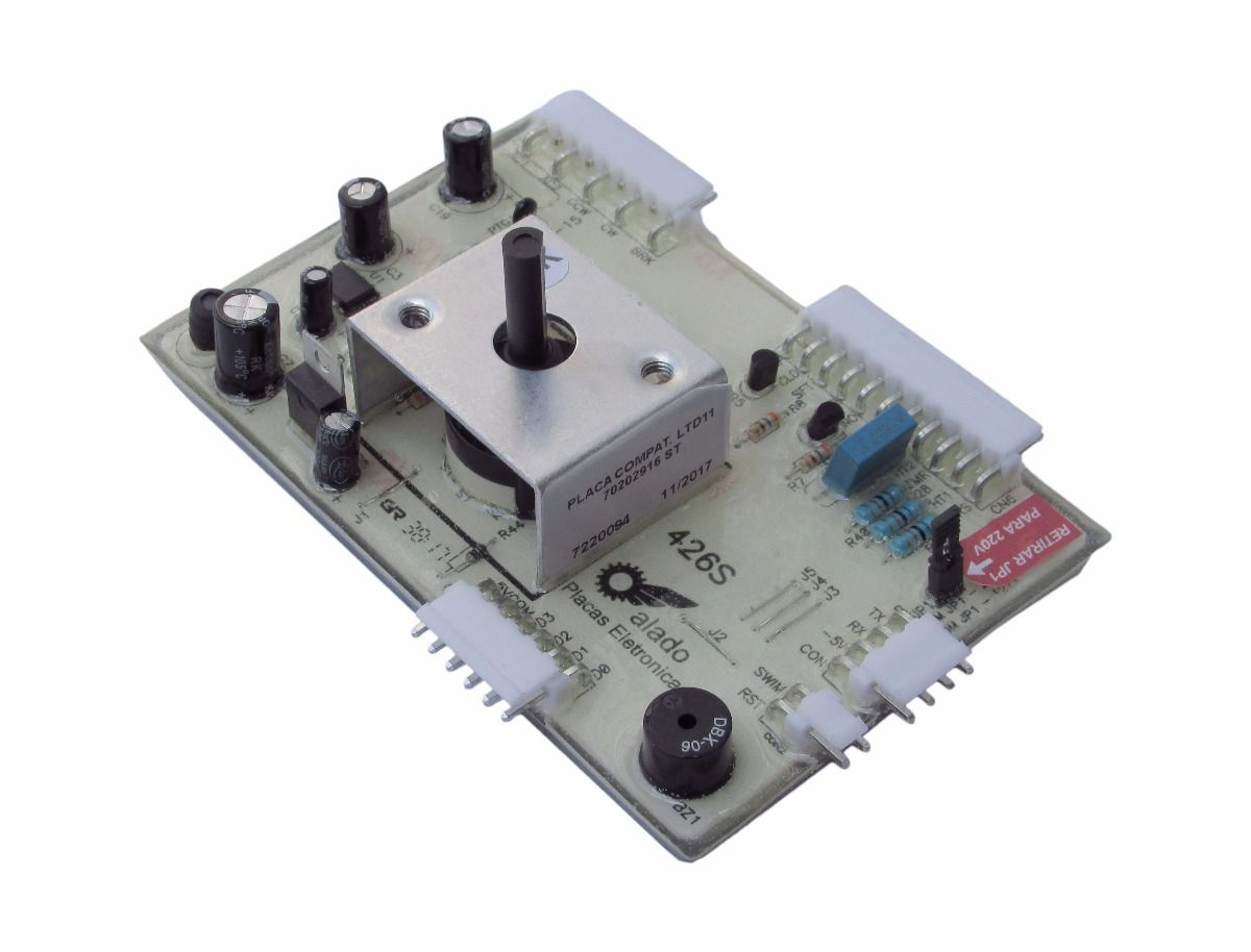 Placa Potência Lavadora De Roupas Electrolux Ltd11 Bivolt - 70202916 - Alado
