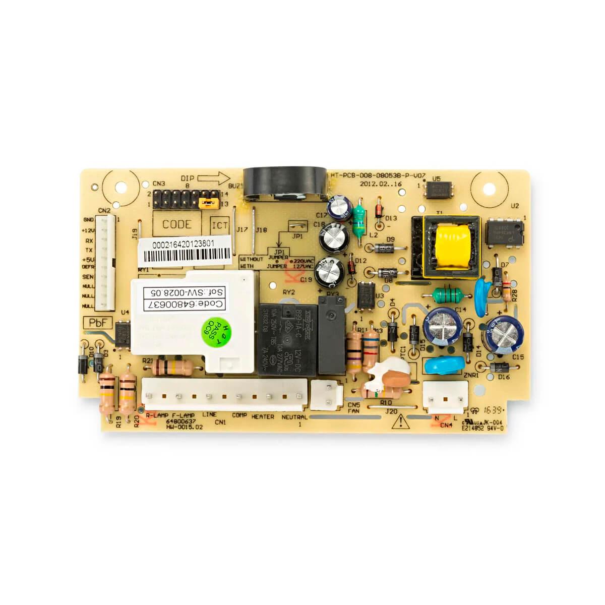 Placa Potência Refrigerador Electrolux DF80 DF80X DWX51 DFW51 DW51X DWN51 - 64800637