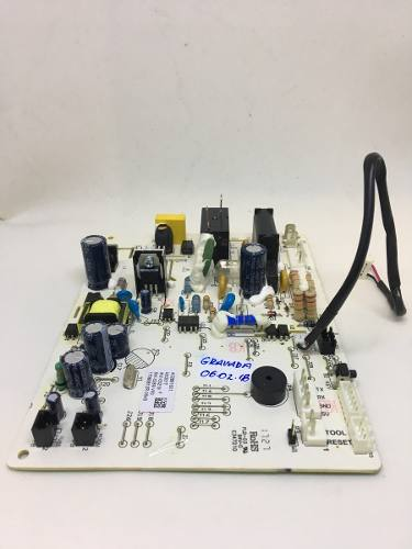 Placa Unidade Interna Do Ar Condicionado Split Inverter Electrolux - A02861601