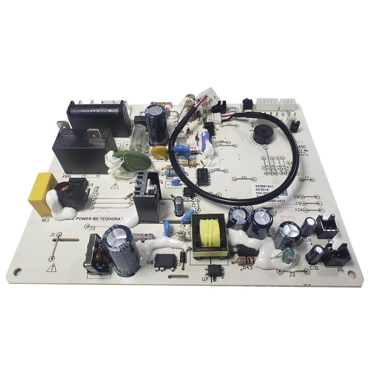 Placa Unidade Interna Do Ar Condicionado Split Inverter Electrolux QI09R QI12R QI09F QI12F - A02861601