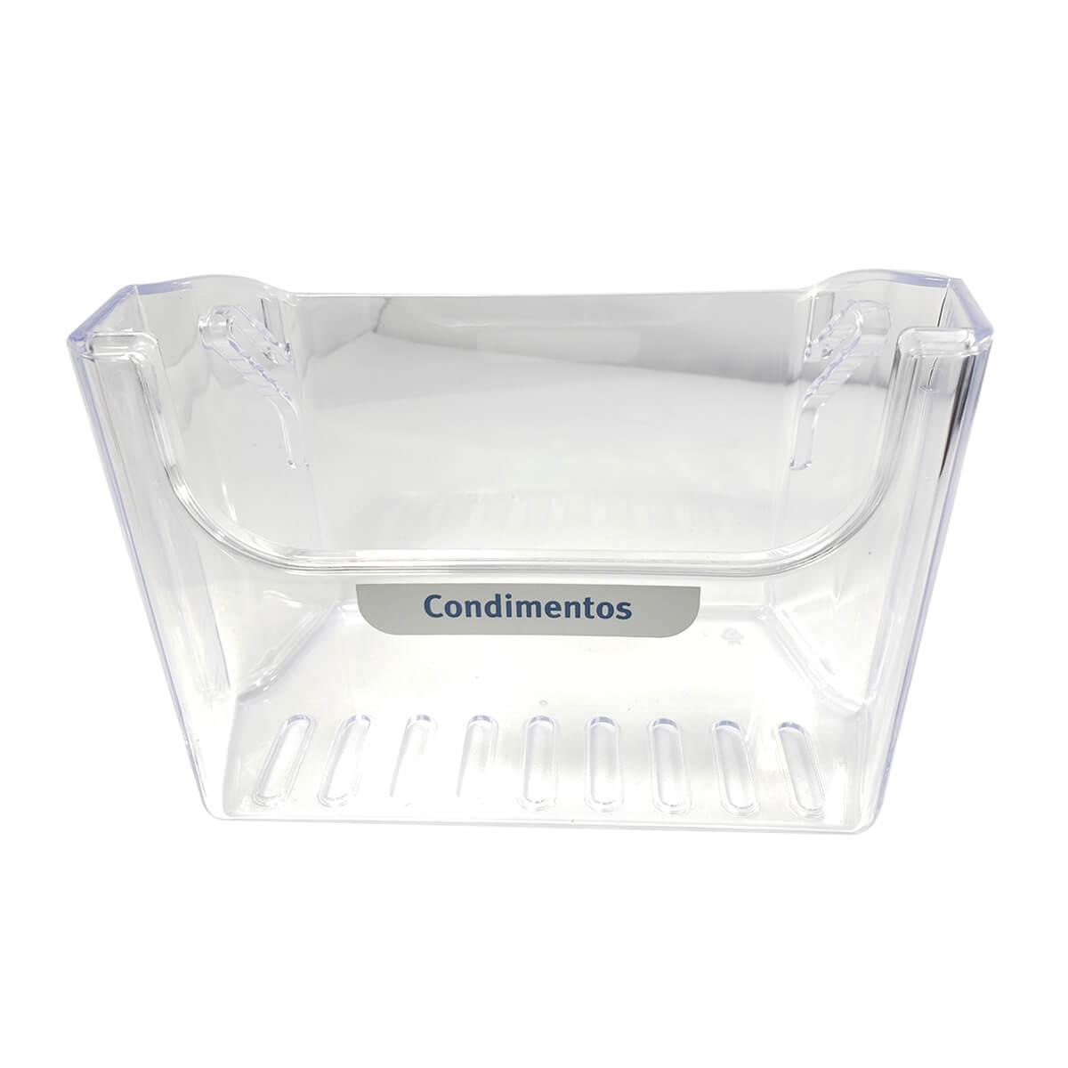 Prateleira De Condimentos Para Geladeira Dcw49 Dc50x Electrolux - 67492958