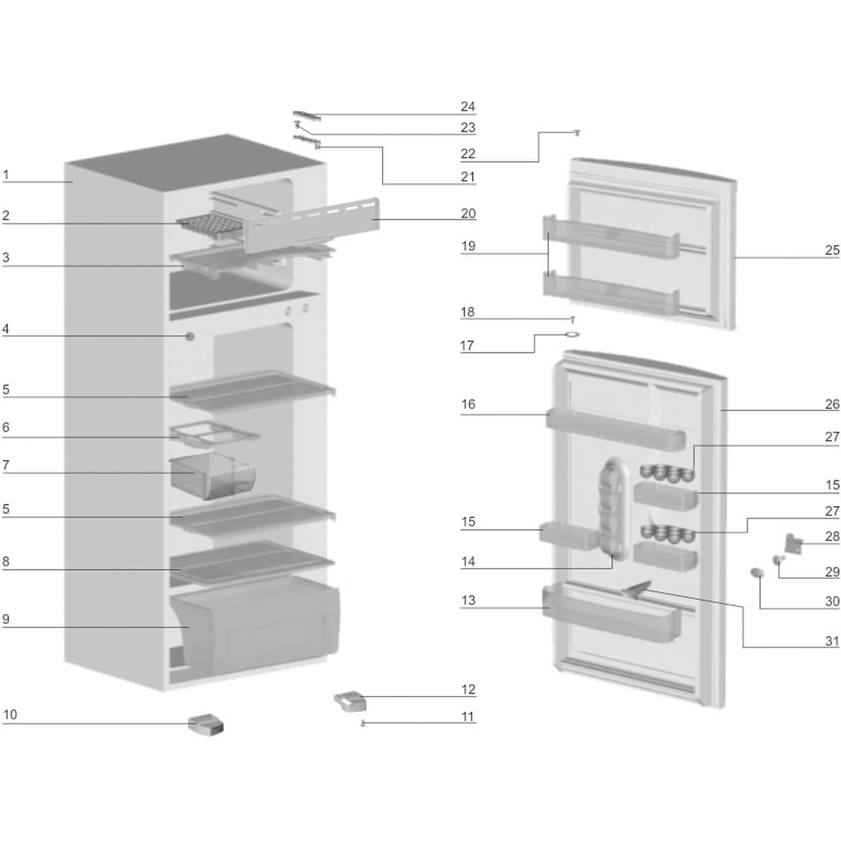 Prateleira do Refrigerador Frost Free Electrolux DF34 DF35 - 77491187