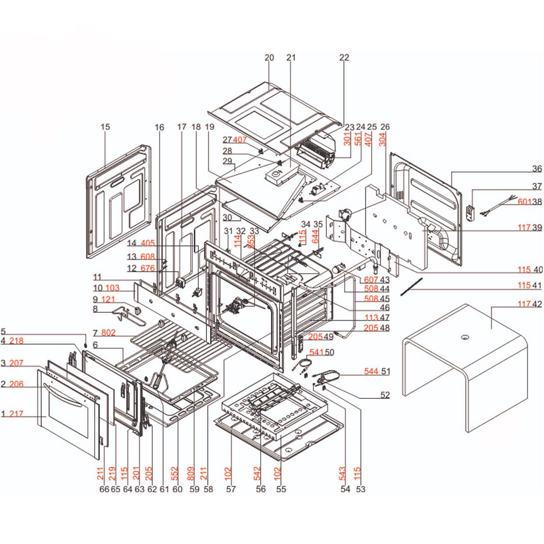 Prateleira Forno Electrolux OG7MX OE9SX  - 33170001