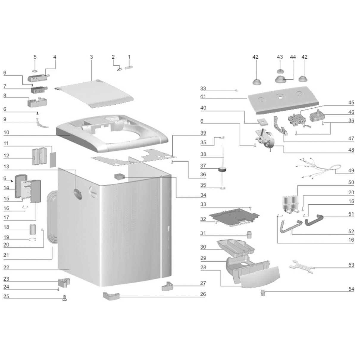 Pressostato Compacto Com 4 Níveis Para Lavadora De Roupas Electrolux - 64786928
