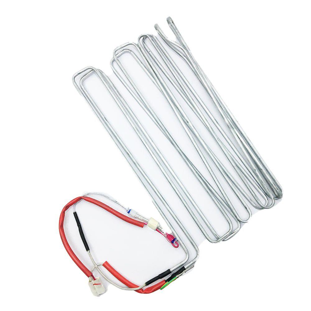Resistência Degelo Tubular Refrigerador 220v Electrolux DF35A DFN39 DFX39 DF36A DF36X DF34A - 64594018