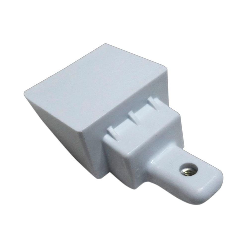 Suporte Branco Puxador Geladeira Electrolux DFW52 DF52 DF42 DF51 IF51 DF53 IF53 DF54 - 67405516