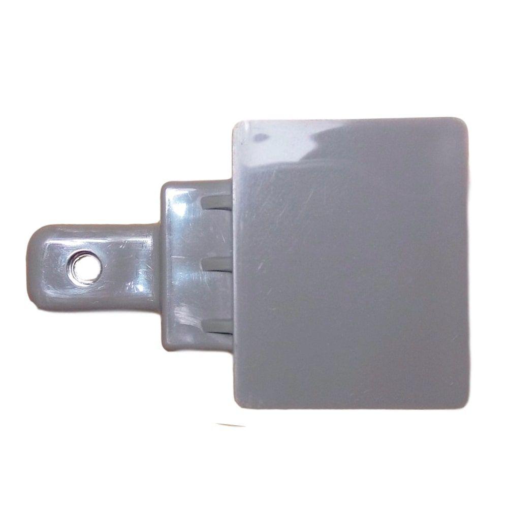 Suporte Inferior Cinza Puxador Geladeira Electrolux DF52X DW52X DF51X DF42X DW42X IF51X - 67405517