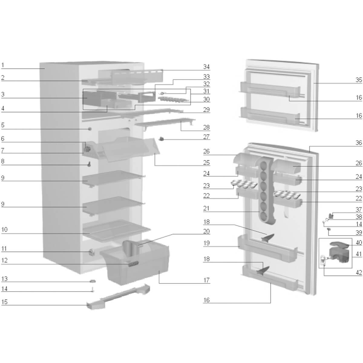 Tampa Do Compartimento Chill Refrigerador Electrolux - 67492207