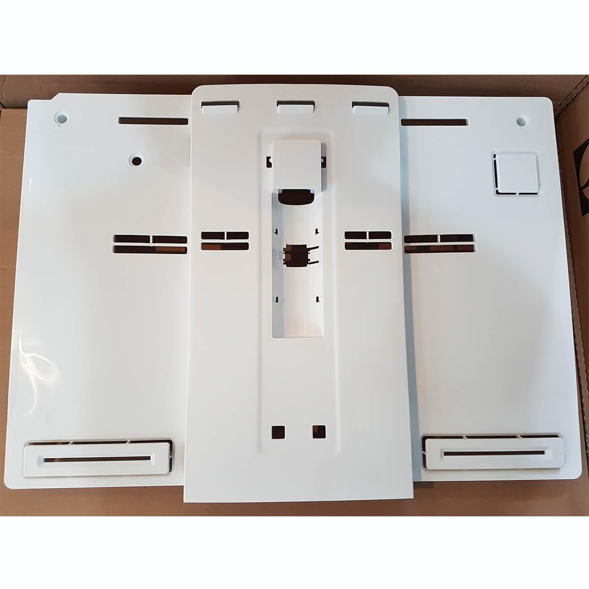 Tampa Frontal Evaporador Refrigerador Frost Free Electrolux DF80 DF80X DI80X DT80X DF82 DF82X - A00411101