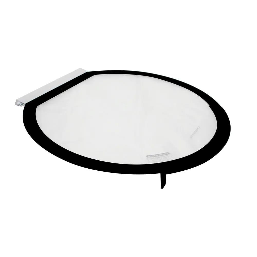 Tampa Móvel de Vidro Para Lavadora Brastemp Bwh15a 15kg - W11225454