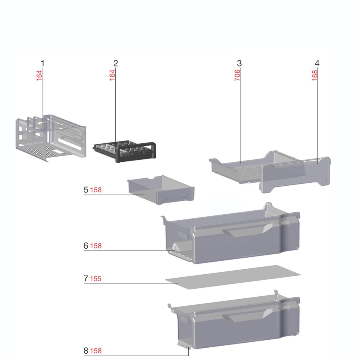 Tampa Turbo Freezer Para Congelador Refrigerador Electrolux - A96998701