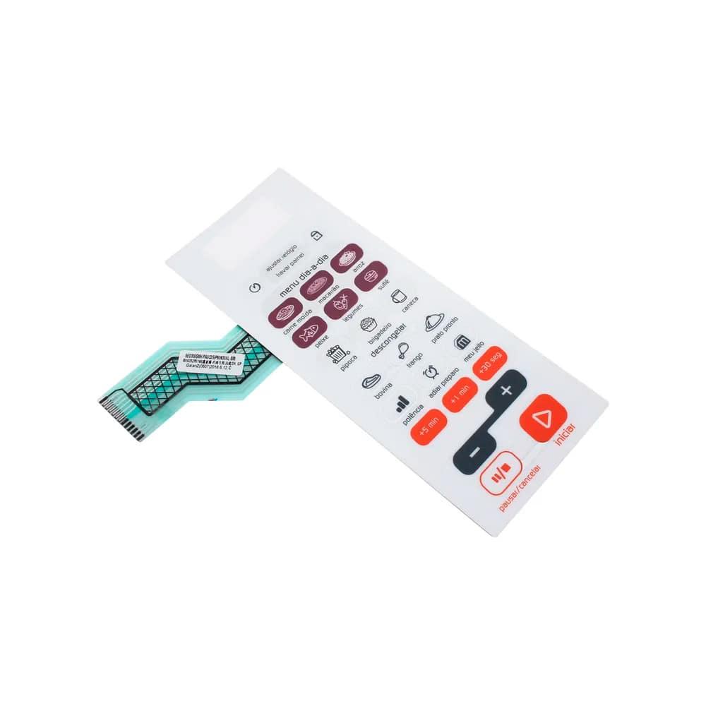 Teclado Membrana Microondas Brastemp BMS45 - W10325885