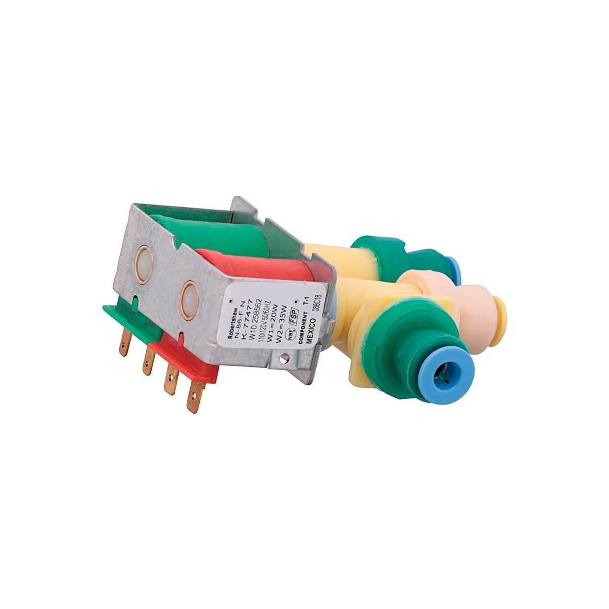 Válvula 2 Vias 110V Para Geladeira Brastemp - W10258562