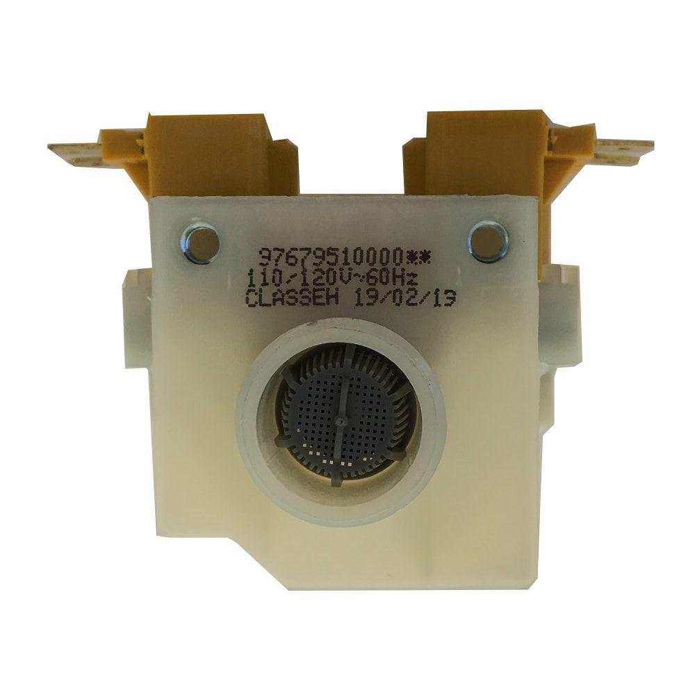 Válvula De Entrada Dupla de Água 127V Consul/Brastemp - 326007114 Bitron