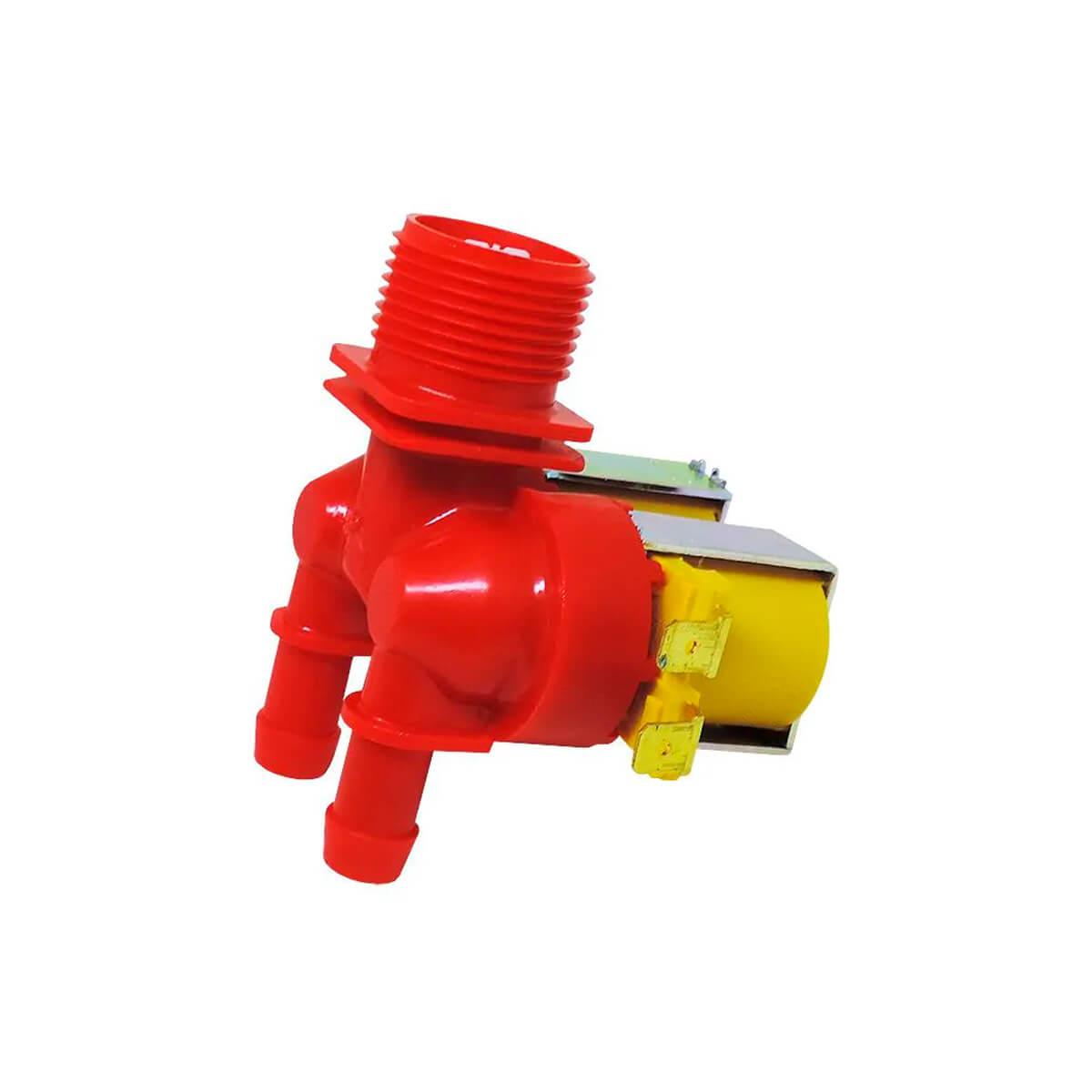 Válvula Dupla 127V Para Lavadora LT13B LTC10 Electrolux - 64287503