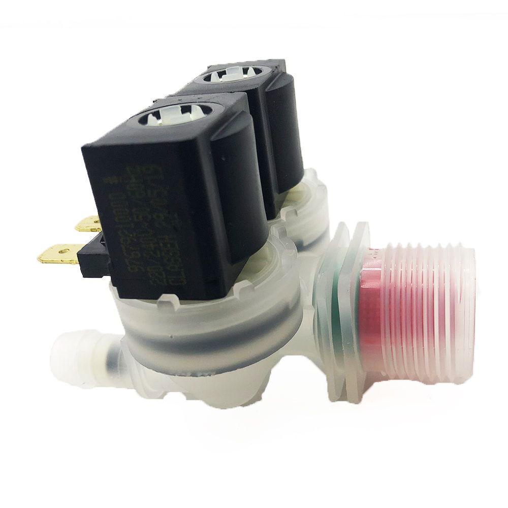 Válvula Dupla Entrada Água Lavadoras Electrolux 220V Emicol - 64287449