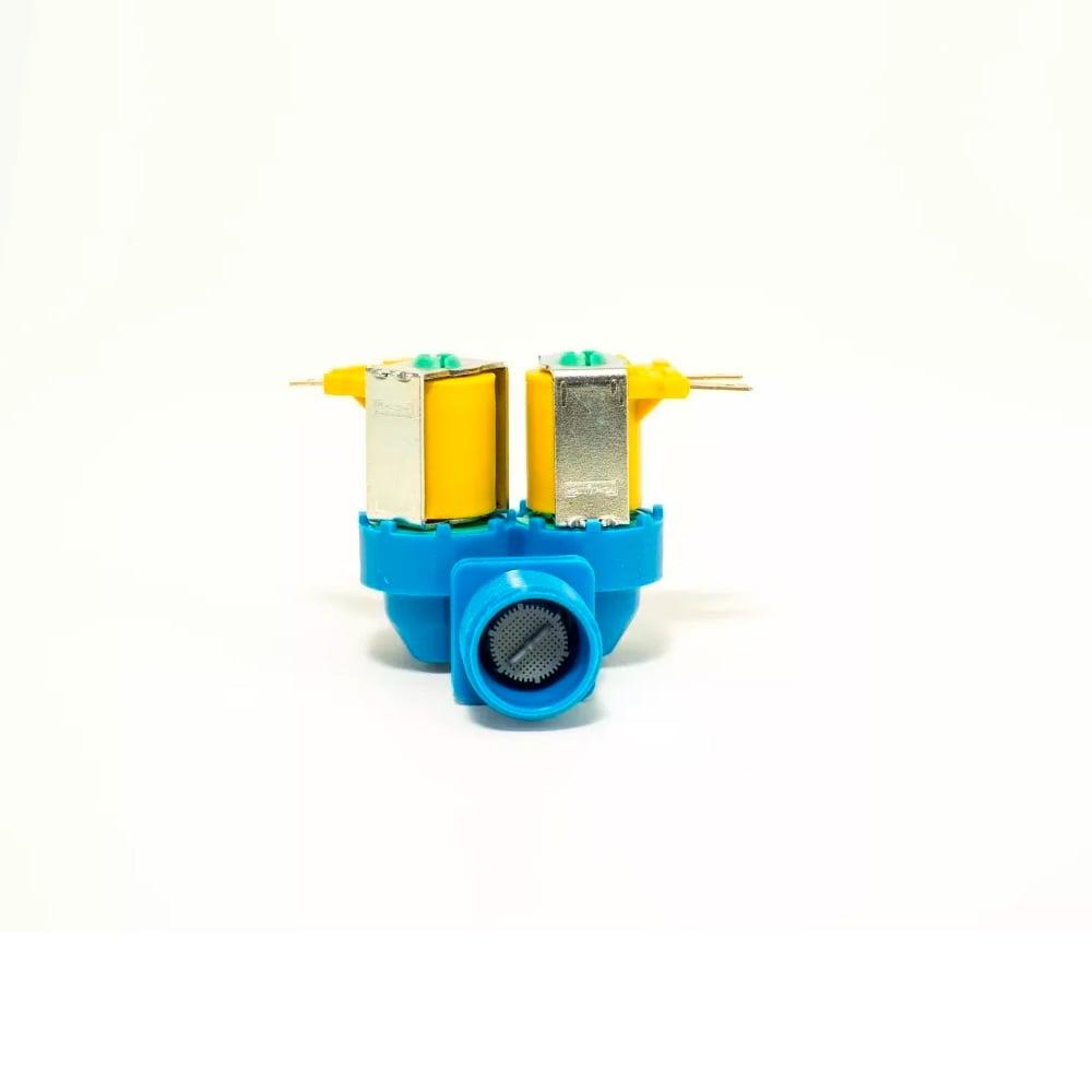 Válvula Entrada De Água Dupla Lavadora Electrolux Ltd16 127v - A99089301