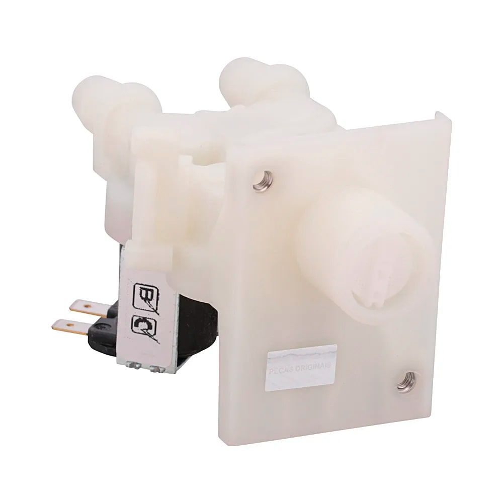 Válvula Solenoide Para Máquina De Lavar Roupas Brastemp 220V - W10685607