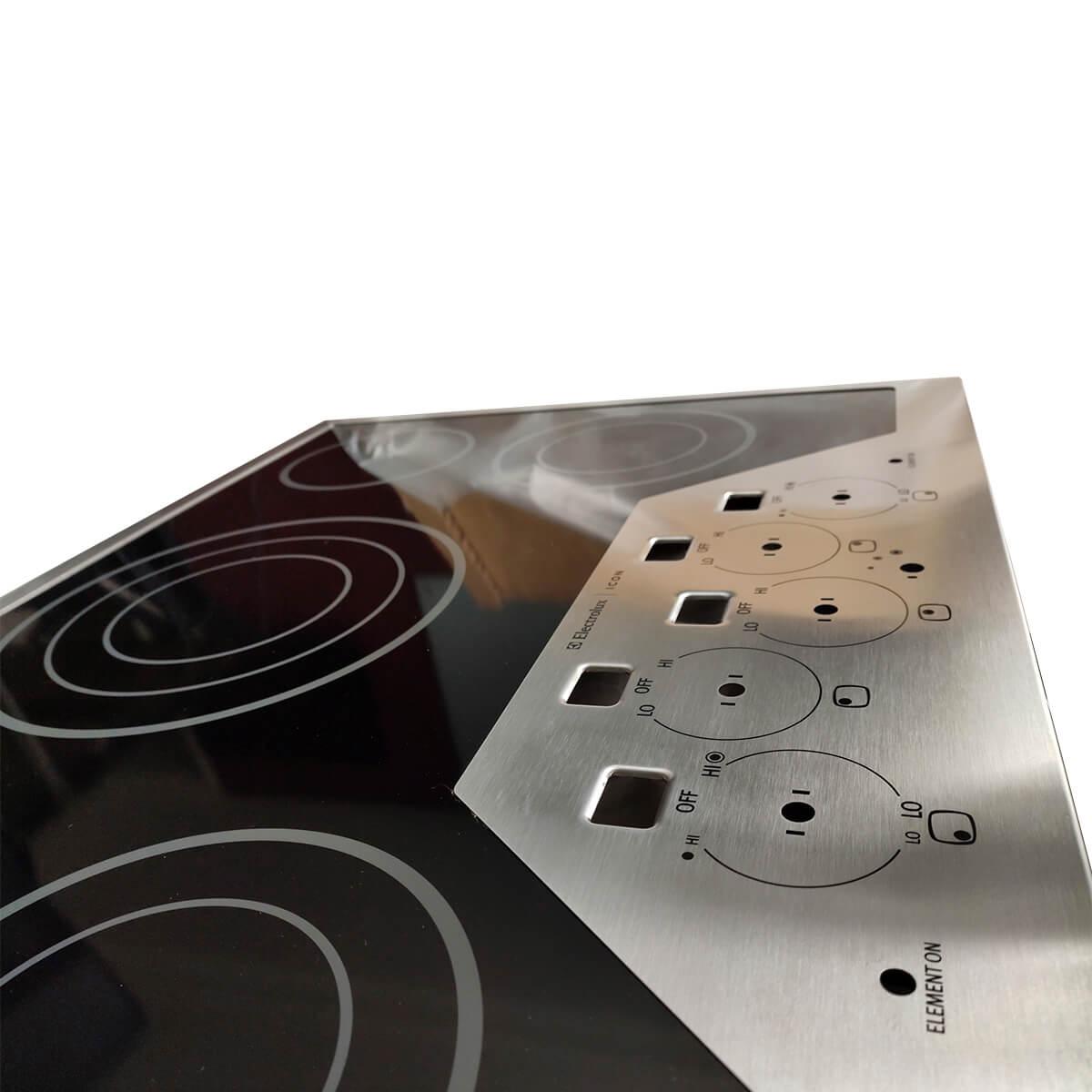 Vidro Completo Do Fogão Cooktop Elétrico Electrolux - 18310200