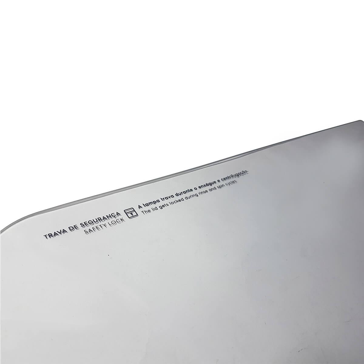 Vidro Da Tampa Para Lavadora de Roupas Electrolux - A04786901