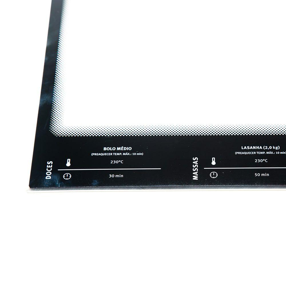 Vidro Interno Contraporta Para Fogão 76SRB 76SRX 76SB 76ERX Electrolux - A05306908