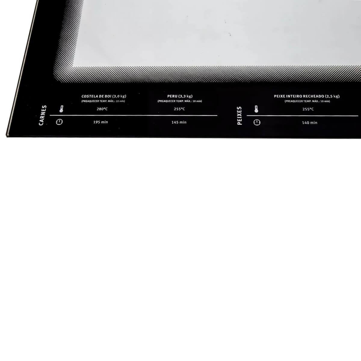 Vidro Interno Porta Do Forno Grande Fogão 5 Bocas Electrolux - 70200916
