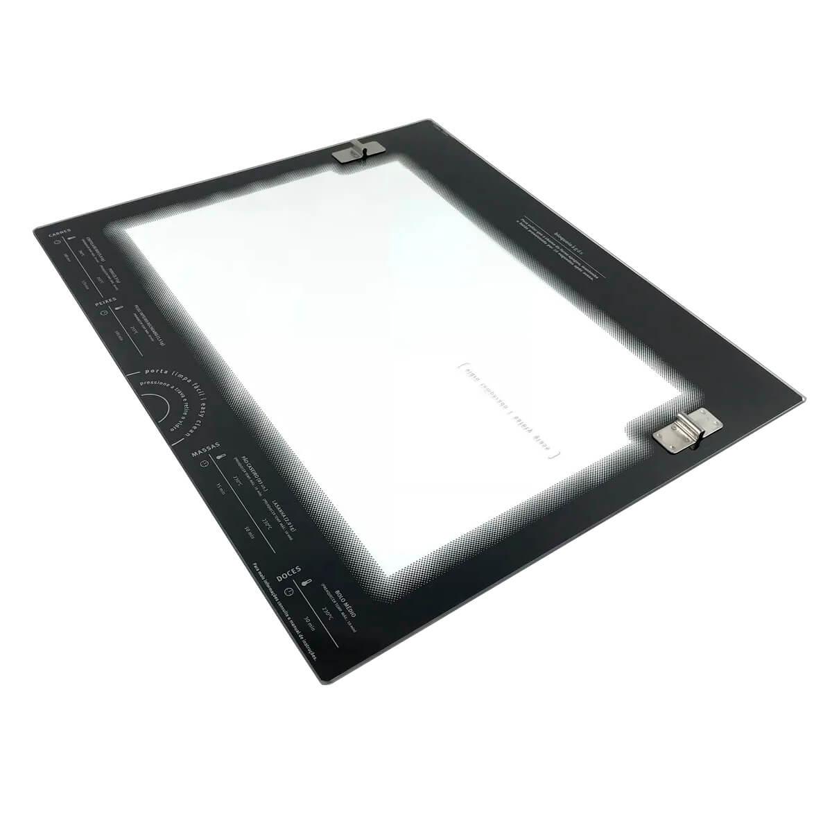 Vidro Interno Porta Do Forno Para Fogão 4 Bocas Electrolux - 70201305