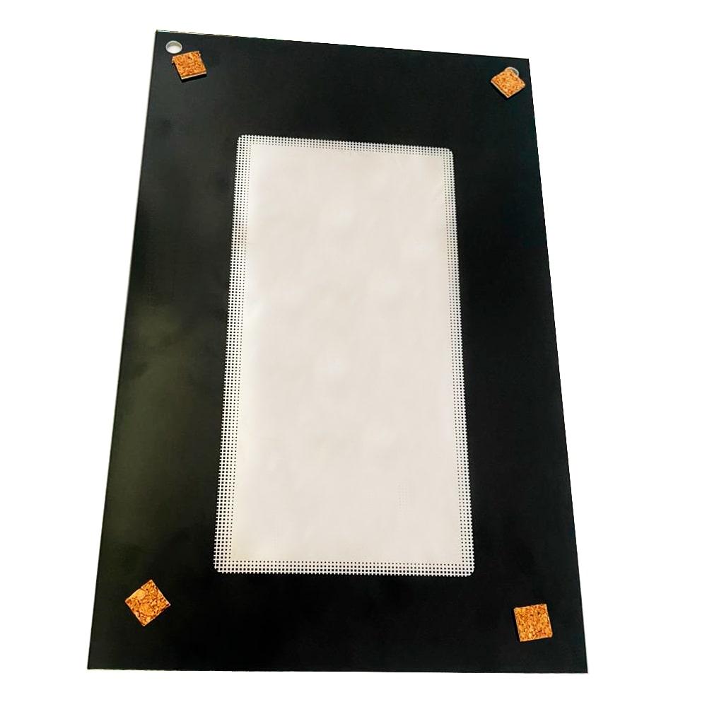 Visor Da Porta Microondas Electrolux MT30S Espelhado - 243029004918