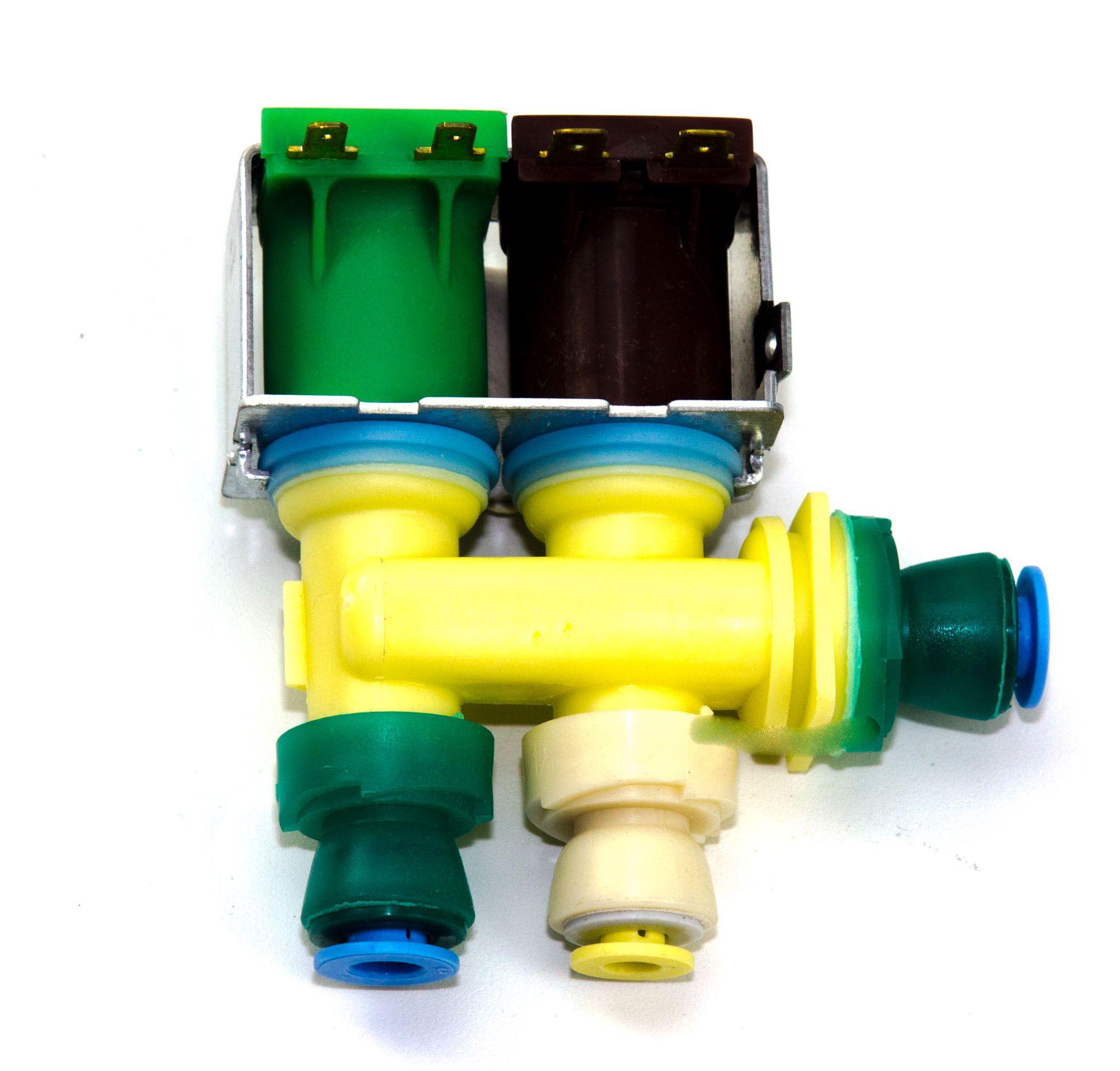 Válvula Água Simples Refrigerador Side By Side Brs70h 110v - W10238102