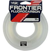 LINHA FLUOCARBON YGK FRONTIER 50 METROS - 20 LBS (0,41mm)