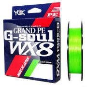 LINHA MULTIFILAMENTO YGK G-SOUL GRAND PE WX8 150m. - 65 LIBRAS (0,38mm)
