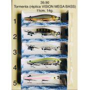 TORMENTA (REPLICA VISION MEGA BASS) 11CM. 14G.