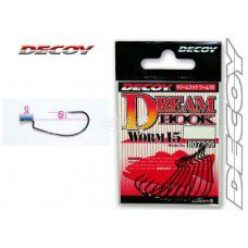 ANZOL DECOY DREAM HOOK WORM 15 - CARTELA