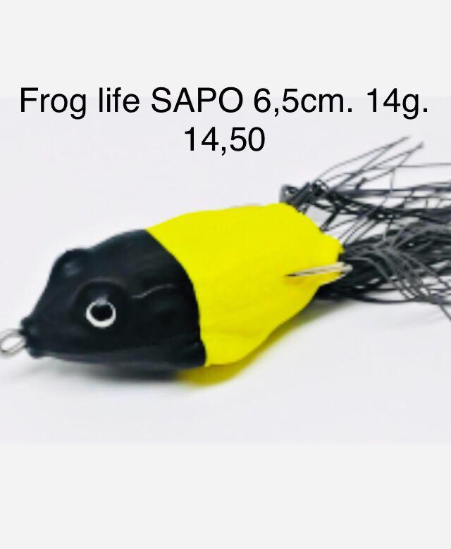 ISCA FROG LIFE SAPO - 6,5 cm. 14 g.