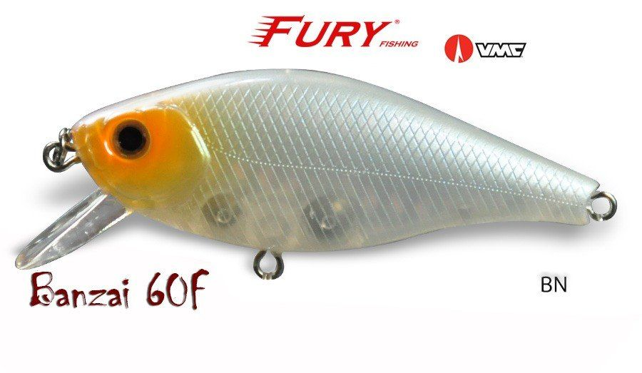 ISCA FURY BANZAI 60 F - 6cm. 6,5g.