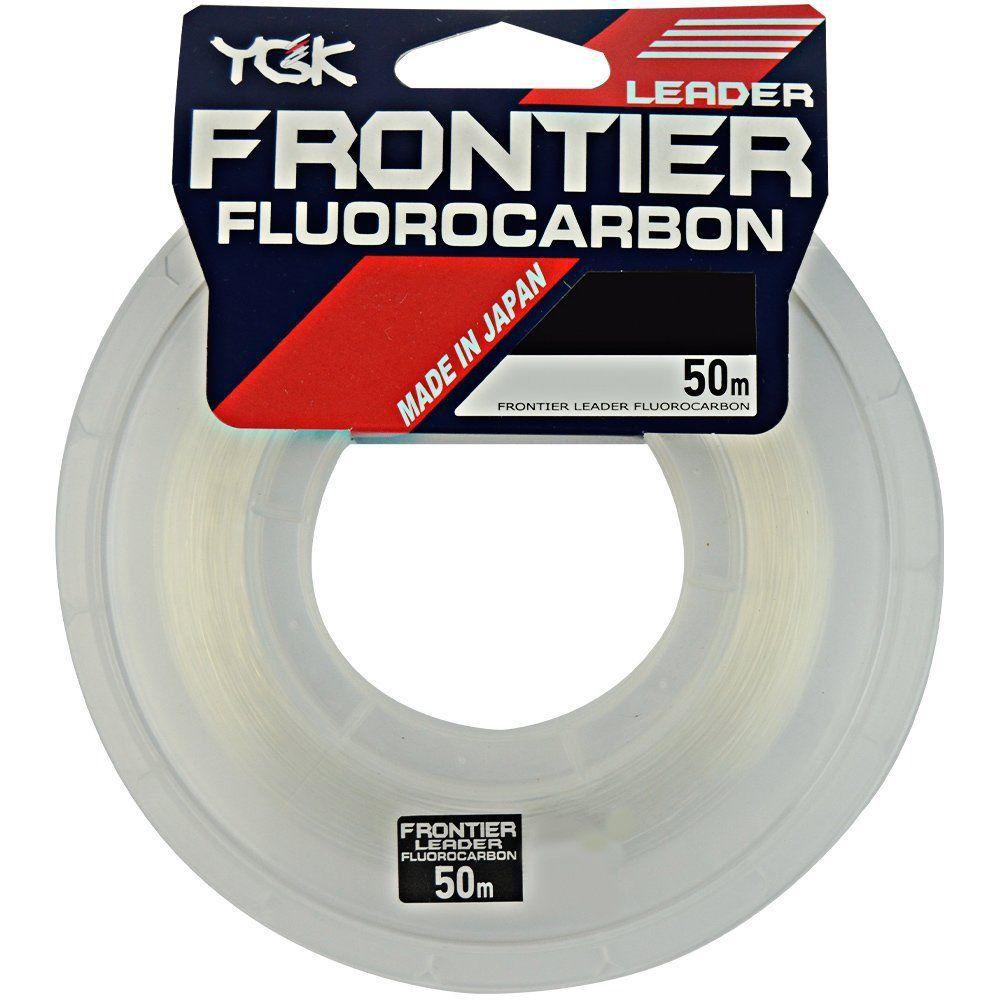 LINHA FLUOCARBON YKG FRONTIER 50 METROS - 60 LBS (0,70mm)